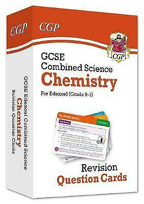 £5 • Buy 9-1 GCSE Combined Science: Chemistry Edexcel Revision Question Cards By CGP...