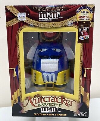 £9.78 • Buy M&M Nutcracker Limited Edition Blue Chocolate Candy Dispenser Official Release