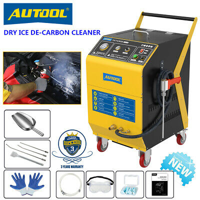 £2701.34 • Buy Dry Ice De-Carbon Cleaning Machine Engine Intake Valve Throttle Blasting Cleaner