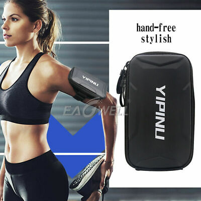 AU24.79 • Buy Running Armband Phone Holder Bag Sports Gym Arm Band For IPhone 13/12/11 Pro Max