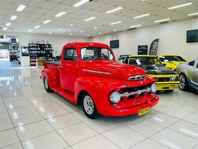 AU79990 • Buy 1950 Ford F100 F1 Frieghter Red Automatic A Utility