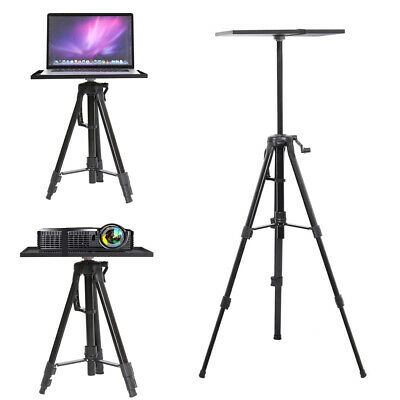 AU43.90 • Buy Projector Tripod Stand Bracket Adjustable Floor Laptop Stand Holder With Tray AU