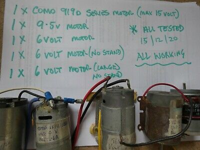 £55 • Buy  Various (5 Motors)  Model Boat Motors-all Tested And Working