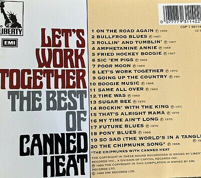 £2 • Buy Canned Heat - Let's Work Together (The Best Of , 1989)