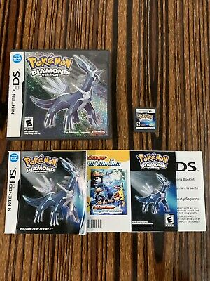 $75 • Buy Pokemon: Diamond Version (Nintendo DS, 2007) Authentic, Complete In Box Tested