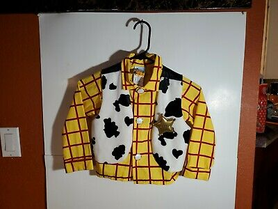 £13.86 • Buy Disney Store Toy Story Woody Halloween Costume Button Shirt  Boys Size XS 4
