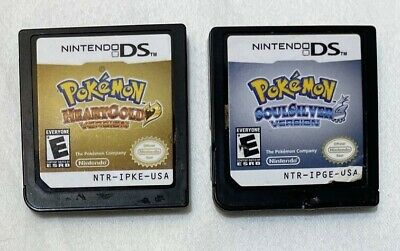 $249.99 • Buy Pokemon HeartGold & SoulSilver For Nintendo DS Authentic And Tested Video Games