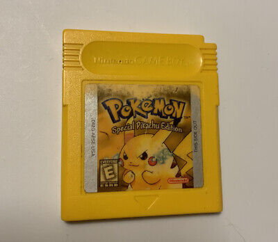$49.99 • Buy Pokemon Yellow Special Pikachu Edition (Authentic, Tested, SAVES)