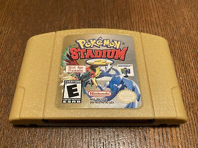 $229.99 • Buy Pokemon Stadium 2 NOT FOR RESALE NFR (Nintendo 64, N64) AUTHENTIC Free Shipping