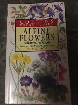 £4 • Buy Collins Pocket Guide Alpine Flowers Of Britain And Europe