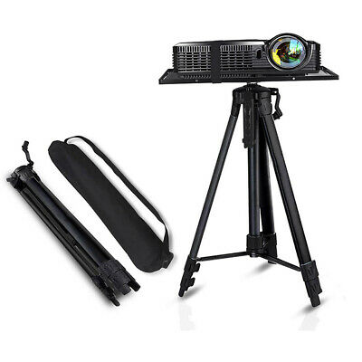 AU43.92 • Buy Sturdy Aluminum Projector Stand Laptop Tripod Stand Portable DJ Equipment Stand