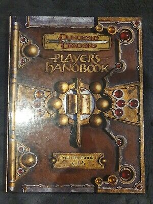 AU62 • Buy Dungeons And Dragons Players Handbook Core Rulebook 1 V.3.5 Special Ed Oct 2004