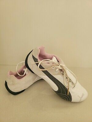 AU25 • Buy Puma Lifestyle Size 7US  Womens Running Sneakers Ladies White - Exc Condition
