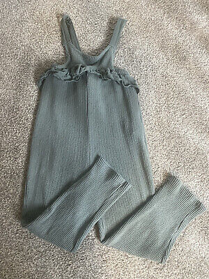 £6 • Buy Girls Zara All In One Dungarees 4-5