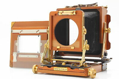 £723.18 • Buy [MINT] Wista Field 45DX 4x5 Wood Large Format Camera From JAPAN