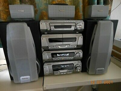 £75 • Buy Technics Hi-fi System 5 Speakers, 5 Stack CD Player. Excellent Condition