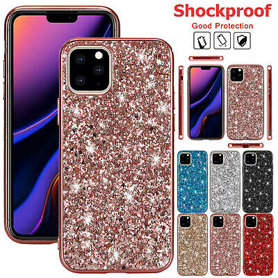 AU12.99 • Buy For IPhone 13 Pro Max 12 11 XS XR 8 7+ Case Bling Glitter Shockproof TPU Cover