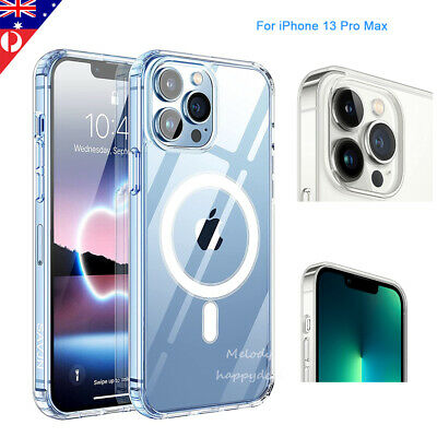 AU14.98 • Buy MagSafe Magnetic Clear Slim Case For IPhone 12 13 Pro Max Hard Cover Shockproof