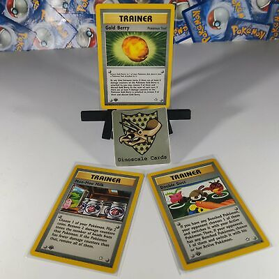 $8 • Buy Neo Genesis 1st Edition Trainer Card Lot Pokemon Cards NM/LP