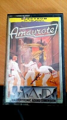 £0.99 • Buy Sinclair ZX Spectrum Amaurote Mastertronic MAD -48/128/+2 (Untested)