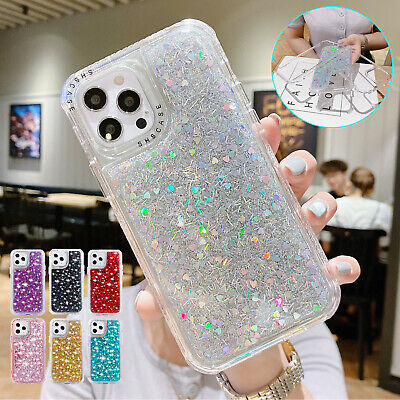 AU11.49 • Buy For IPhone 13 Pro Max 12 11 Pro XS XR 8 7 Bling Glitter Shockproof Case Cover