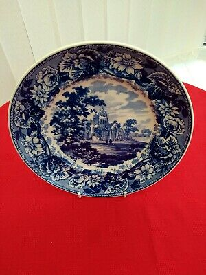 £2.59 • Buy Wedgwood Collectors Plate =   THE ABBEY    = QUEENS WARE  22.6cm =check Pics