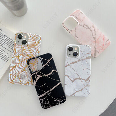 AU6 • Buy Case For IPhone 13 12 Pro Max 11 XS XR 8 7 Plus SE 2 Silicone Marble Phone Cover