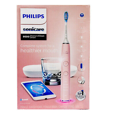 AU313.45 • Buy New Philips Sonicare DiamondClean Smart Electric Toothbrush 9500 APP TongueCare+