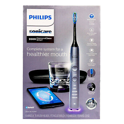 AU313.45 • Buy New Philips Sonicare DiamondClean Smart 9500 Electric Toothbrush APP TongueCare+
