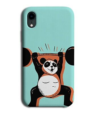 £9.99 • Buy Weightlifting Panda Phone Case Cover Weightlifter Muscly Muscles Gym Weights 804