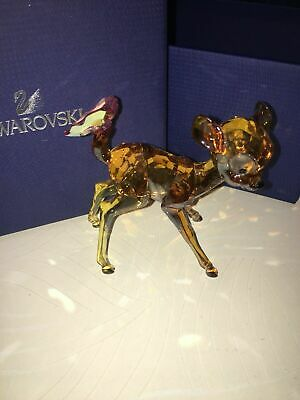£950 • Buy SWAROVSKI COLOUR THUMPER  And BAMBI MINT IN BOXES