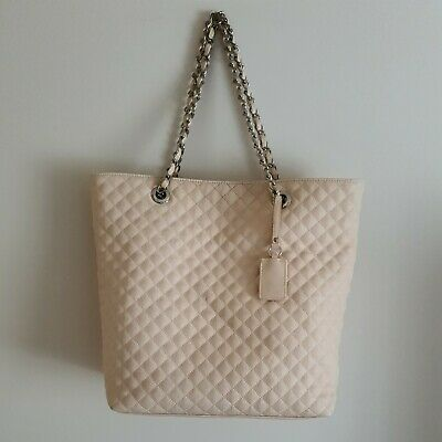 AU24.99 • Buy Forever New Light Pink Quilted Tote Bag