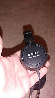 £7.25 • Buy Sony MDR-ZX100 ZX Series Studio Stereo Headphones Black Wired 3.5mm Jack Tested