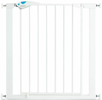 £39 • Buy Lindam Easy Fit Plus Deluxe Pressure Fit Safety Gate - 76-82 Cm, White
