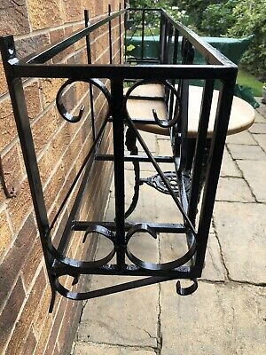 £95 • Buy Wrought Iron Planter Window Box Xlarge 6' Long Quality Heavy Duty With Liner