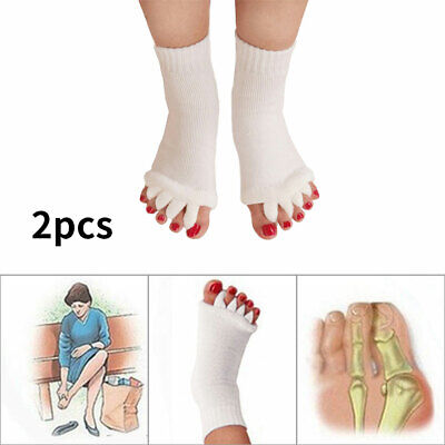 £4.44 • Buy 2 Pcs Five Finger Toe Socks Blister Protection Bunion Pain Relief Athletes Foot