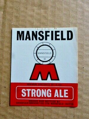 £1.25 • Buy Mansfield Brewery   Strong Ale      Beer Bottle Label  Unused ( A 90 )