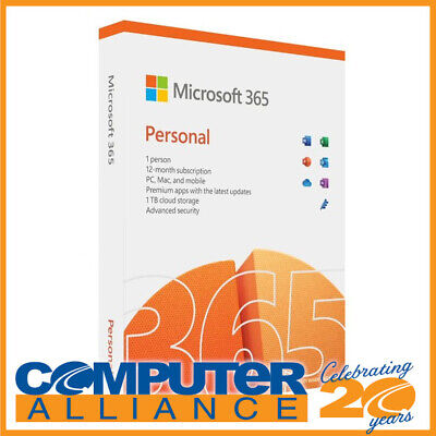 AU99 • Buy Microsoft Office 365 Personal 1 Year Subscription QQ2-01397