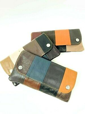 £6.99 • Buy Soft  Leather Cigarette Tobacco Pouch Case Organiser Rolling Paper Pocket
