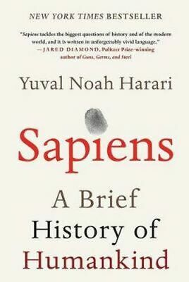 AU69.29 • Buy Sapiens: A Brief History Of Humankind