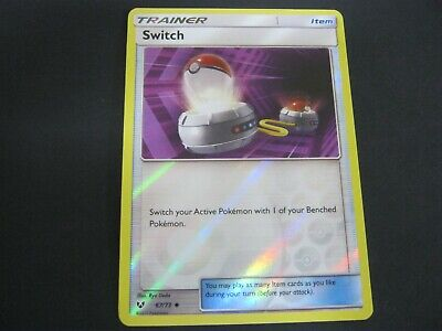 £2 • Buy Pokemon Card Shining Legends Holo SWTCH Number 67