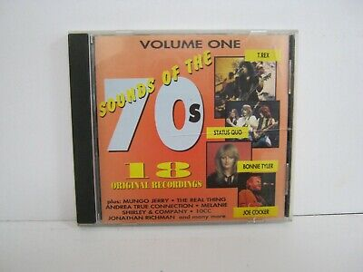 £3 • Buy Cd Album Sounds Of The 70's Volume One 3002
