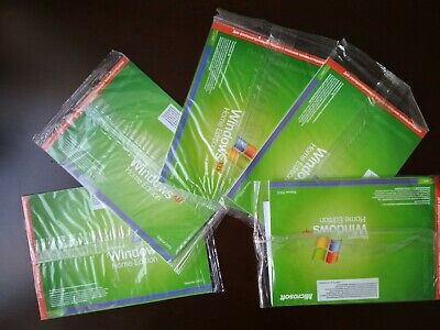£7.24 • Buy New Sealed Microsoft Windows XP Home Edition Version 2002 Service Pack 2
