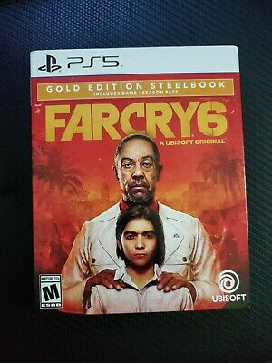 AU125.12 • Buy Far Cry 6 Gold Edition With Steelbook PlayStation 5 PS5 - In Hand, Free Shipping