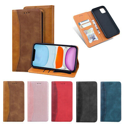 AU12.29 • Buy Case For IPhone 13 12 11 Pro Max Business Wallet Card Holder Leather Flip Cover