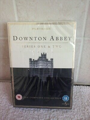 £7.99 • Buy Downtown Abbey Series 1 And 2 DVDs The Complete Collection Brand New & Sealed