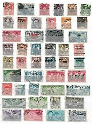 AU1.56 • Buy USA ( UNITED STATES OF AMERICA )   -  LOT OF  OLD STAMPS - Ref 27