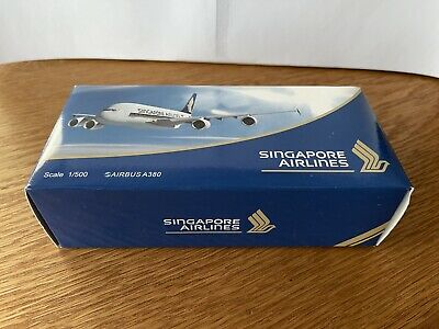 AU9.99 • Buy Singapore Airlines A380 1:500 Lupa Model Limited Production (BNIB)