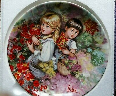 £9.90 • Buy Wedgwood Queens Ware Plate, Our Garden, Limited Edition No 8690A