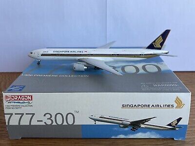 AU76 • Buy Singapore Airlines 777-300 1:400 Dragon Wings Diecast (9V-SYH)
